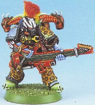 Noise Marine aus Warhammer 40k