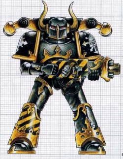 Iron Warrior mit Melter