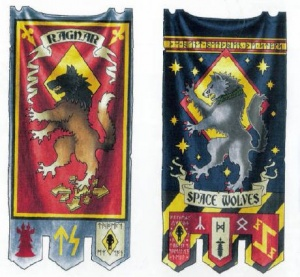 Space Wolves Banners Space Wolves �...